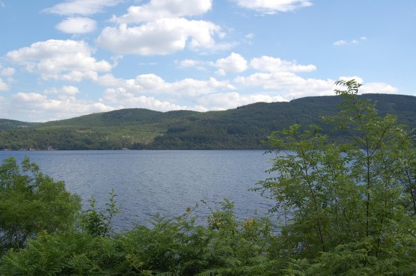 First view of Loch Ness