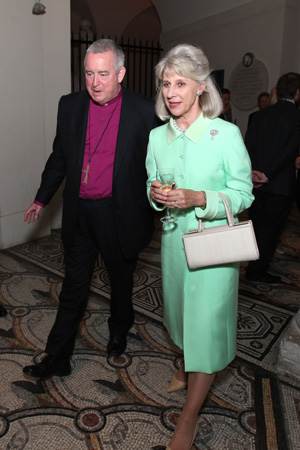 HRH The Duchess and the Dean of St. Paul's Cathedral